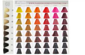 Goldwell Underlying Pigment Chart Goldwell Elumen Color Chart Hair Shade Chart