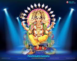 Panchmukhi Ganesha Wallpapers, Photos ...