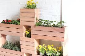 homemade planter box diy