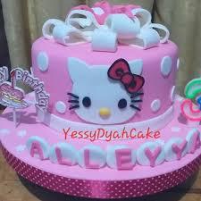 Jual Kue Ulang Tahun Hello Kitty Fondant Kota Tangerang Varians