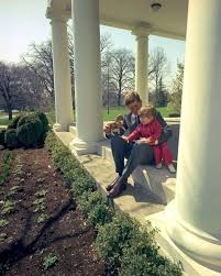 jfk in oval office. President John F Kennedy Plays With Jfk Jr Outside Oval Office In