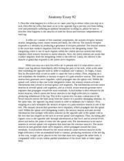 hthsci h human anatomy and physiology mcmaster university 4 pages anatomy essay 2