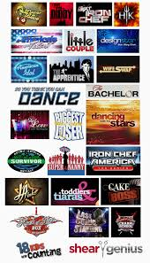 reality tv shows logo. since there seems to be a never ending increase in reality tv shows i thought it would fun do little research on their logos. tv logo