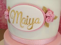 Birthday Cake Girls Name Plaque Kat Buchan Flickr
