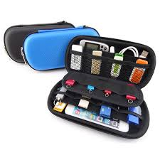 Electronic Gadgets Travel Organizer Storage Bag for USB Data Cable Flash  Drive SD Card Phone Digital