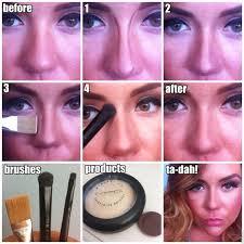 nose makeup makeup contouring makeup tricks hair and makeup 7 makeup contouring routine tricks lips 7