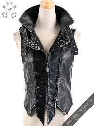 steampunk spikes vest fantasmagoria retail whole gothic clothes and accessories