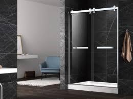hinge tempered glass shower doors unique hinge shower door tempered shower enclosure