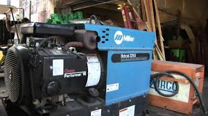 miller bobcat g welder generator