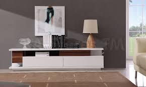modern tv stand white. modern tv061 tv stand in white high gloss/ walnut tv