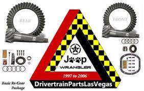 Jeep Jk Regear Chart Details About Jeep Wrangler Tj Regear Package 4 11 Ratio Ring Pinions Mini Kits Pro Active
