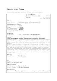 How To Write A Business Letter University Cover Letter Templates