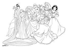 Dessin De Princesse Disney Colorier Superbe Design Coloriage
