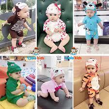 CAO CẤP] Body Thú Cho Bé nghộ nghĩnh DOLAKIDS - Trẻ 4-15kg - Quần áo trẻ em  hình thú vải cotton 100% - DoLaKids tốt giá rẻ