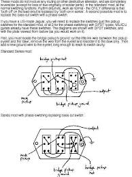 offsetguitars com • view topic jaguar series parallel wiring jaguar series parallel wiring coil splitting