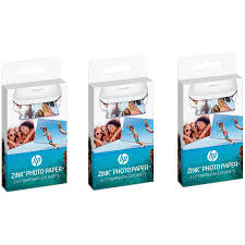 <b>HP Zink Sticky-Backed Photo</b> Paper, 3-Pack - Walmart.com