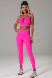 Light Pink Workout Pants Brazilian Workout Leggings Crushed Rose