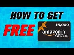 free amazon gift card 2020