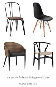 i m searching for the perfect black dining room chair for my makeover check