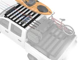 Toyota Tacoma Double Cab Roof Rack (Full Cargo Rack Foot Rail ...
