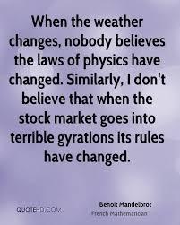 Benoit Mandelbrot Quotes