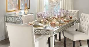 interior glam dining room stylish home decor chic