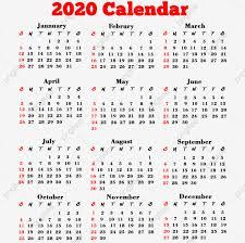 Photoshop Calendar Template 2020 2020 Calendar Png 2020 Calendar 2020 Calendar Png