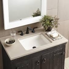 undermount bathroom sinks. nipomo bathroom sink in pearl (nsl1915-p) undermount sinks