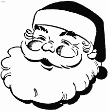 Small Picture coloring pages santa claus face free printable santa claus