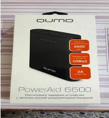 Обзор от покупателя на <b>Внешний аккумулятор Qumo PowerAid</b> ...
