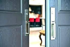 black front door knobs. Attractive Black Entry Door Hardware N0185394 Iron Front Knobs