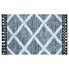 striped bathroom rug black and white bathroom rugs black white bathroom rug sets strikingly and bath