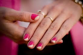 CrashingRED How to - Pink nails with gold embellishments - CrashingRED