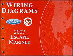 2007 ford escape and mercury mariner wiring diagram manual original ford escape wiring diagram 2006 Ford Escape Wiring Diagram #40