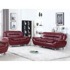 Trendy Living Room Furniture Living In Style Sophie Modern Living Room Sofa And Loveseat Set