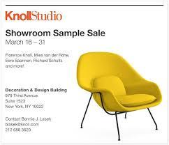 knoll furniture new york sample sale thestylishcity com
