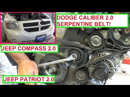 dodge caliber serpentine belt replacement and diagram 2 0 jeep dodge caliber serpentine belt replacement and diagram 2 0 jeep patriot jeep compass 2 0
