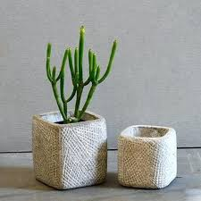 cement flower pots round and square cement flower pot silicone mold home decoration crafts succulent plants cement flower pots