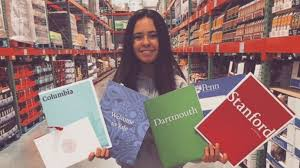 student accepted into ivy league schools after penning essay  student accepted into 5 ivy league schools after penning essay about her love of costco abc news