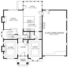 Plan 2369JD 4 Car Tandem Garage  Garage Plans Tandem And CabinFour Car Garage House Plans