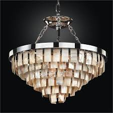 glow lighting chandeliers. Oyster Shell Dual-Mount Chandelier   La Jolla 619 By GLOW Lighting Glow Chandeliers