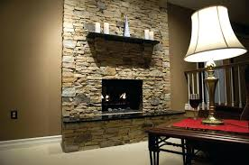 stone veneer fireplace west mt field ledge pinnacle products installation cost