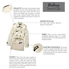 How To Design A Coat The Anatomy Of A Burberry Trench Coat Page Five Vintage