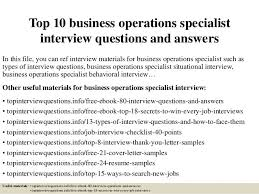 Business Operation Specialist News