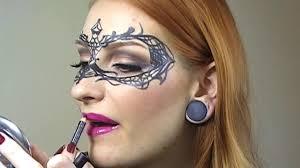 easy masquerade makeup mask tutorial creative make up halloween