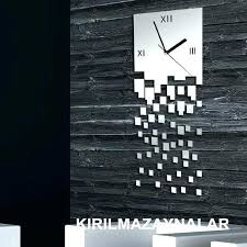oversized wall clocks contemporary modern wall clocks mirror ideas big wall modern wall clocks modern wall