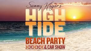 Sammy Hagars High Tide Beach Party Car Show Front Gate