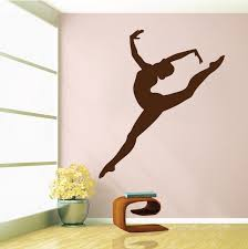Small Picture Gymnastics Girl Wall Decal Trendy Wall Designs