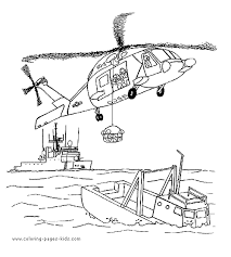 Small Picture Rescue Helicopter color page Coloring pages for kids
