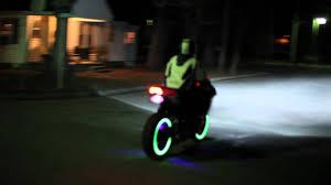 Firepower Wheel Lighting Lunasee Asl System On 2011 Suzuki Gsx R750